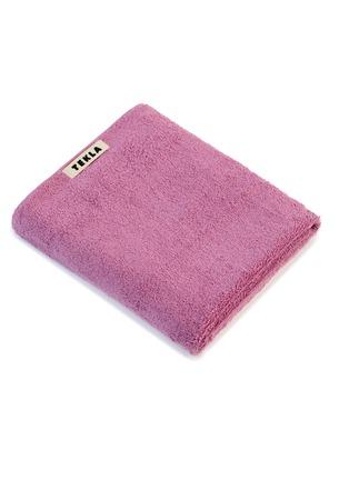 Main View - Click To Enlarge - TEKLA - Organic Cotton Bath Towel – Magenta
