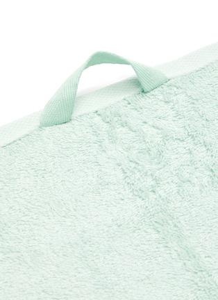 Detail View - Click To Enlarge - TEKLA - Organic Cotton Guest Towel – Mint