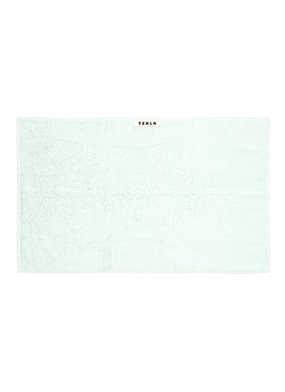 Main View - Click To Enlarge - TEKLA - Organic Cotton Guest Towel – Mint