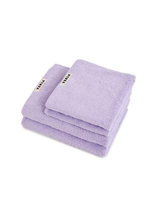 Main View - Click To Enlarge - TEKLA - Organic Cotton Bath Towel – Lavender