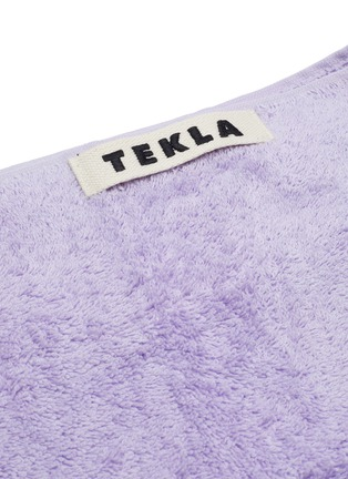 Detail View - Click To Enlarge - TEKLA - Organic Cotton Bath Sheet – Lavender