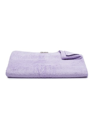 Main View - Click To Enlarge - TEKLA - Organic Cotton Bath Sheet – Lavender