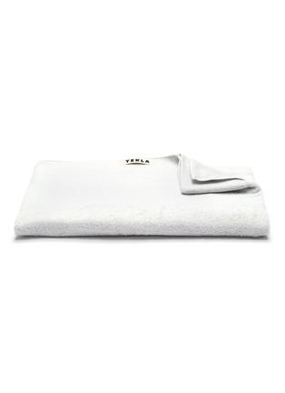 Main View - Click To Enlarge - TEKLA - Organic Cotton Bath Sheet – Lunar Rock