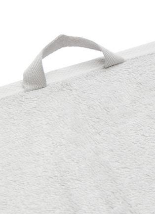 Detail View - Click To Enlarge - TEKLA - Organic Cotton Guest Towel – Lunar Rock