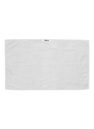 Main View - Click To Enlarge - TEKLA - Organic Cotton Guest Towel – Lunar Rock
