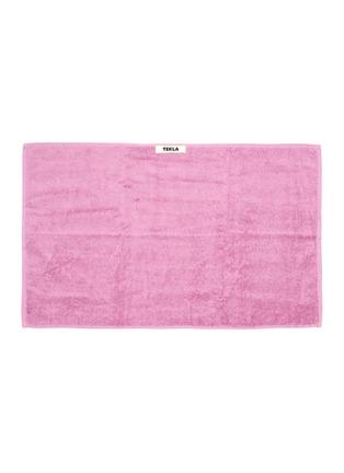 Main View - Click To Enlarge - TEKLA - Organic Cotton guest towel – Magenta