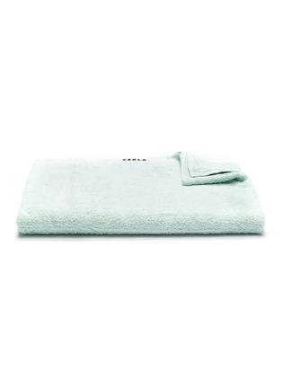 Main View - Click To Enlarge - TEKLA - Organic Cotton Bath Sheet – Mint