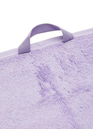 Detail View - Click To Enlarge - TEKLA - Organic Cotton Guest Towel – Lavender