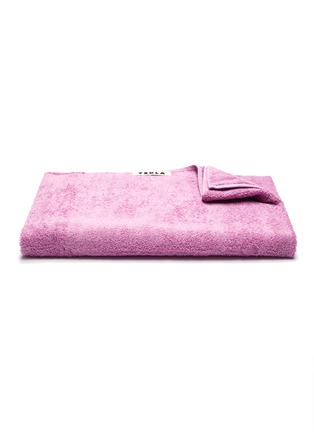 Main View - Click To Enlarge - TEKLA - Organic Cotton Bath Sheet – Magenta