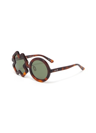 Main View - Click To Enlarge - SONS + DAUGHTERS - 'XO' frame kids sunglasses