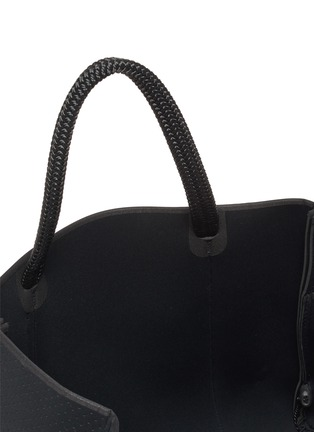 Detail View - Click To Enlarge - STATE OF ESCAPE - 'East West' sailing rope neoprene tote