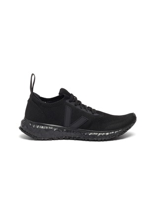 Main View - Click To Enlarge - RICK OWENS X VEJA - Lace up knit sneakers