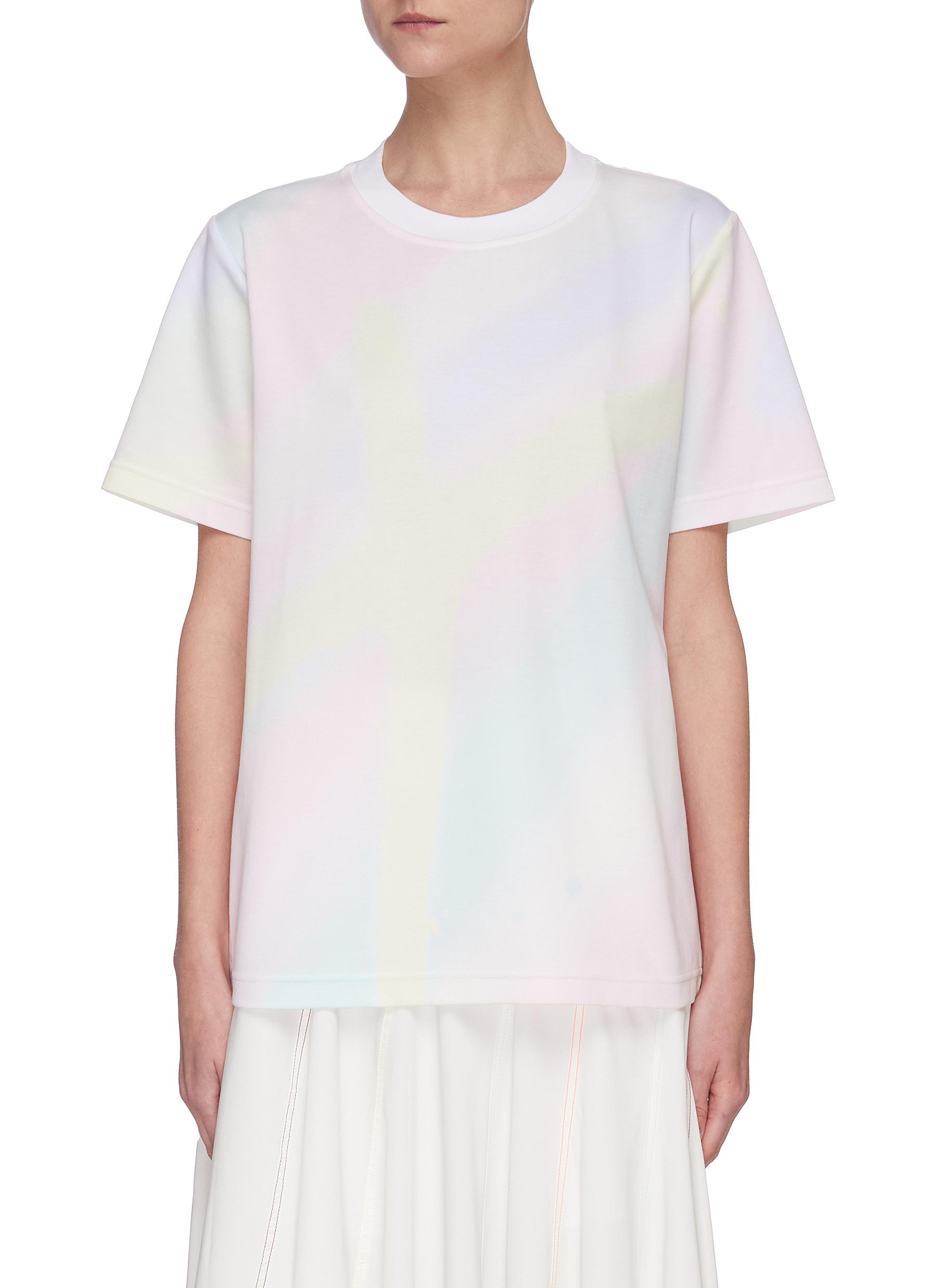 Buy Angel Chen Tops Holographic Print T-shirt