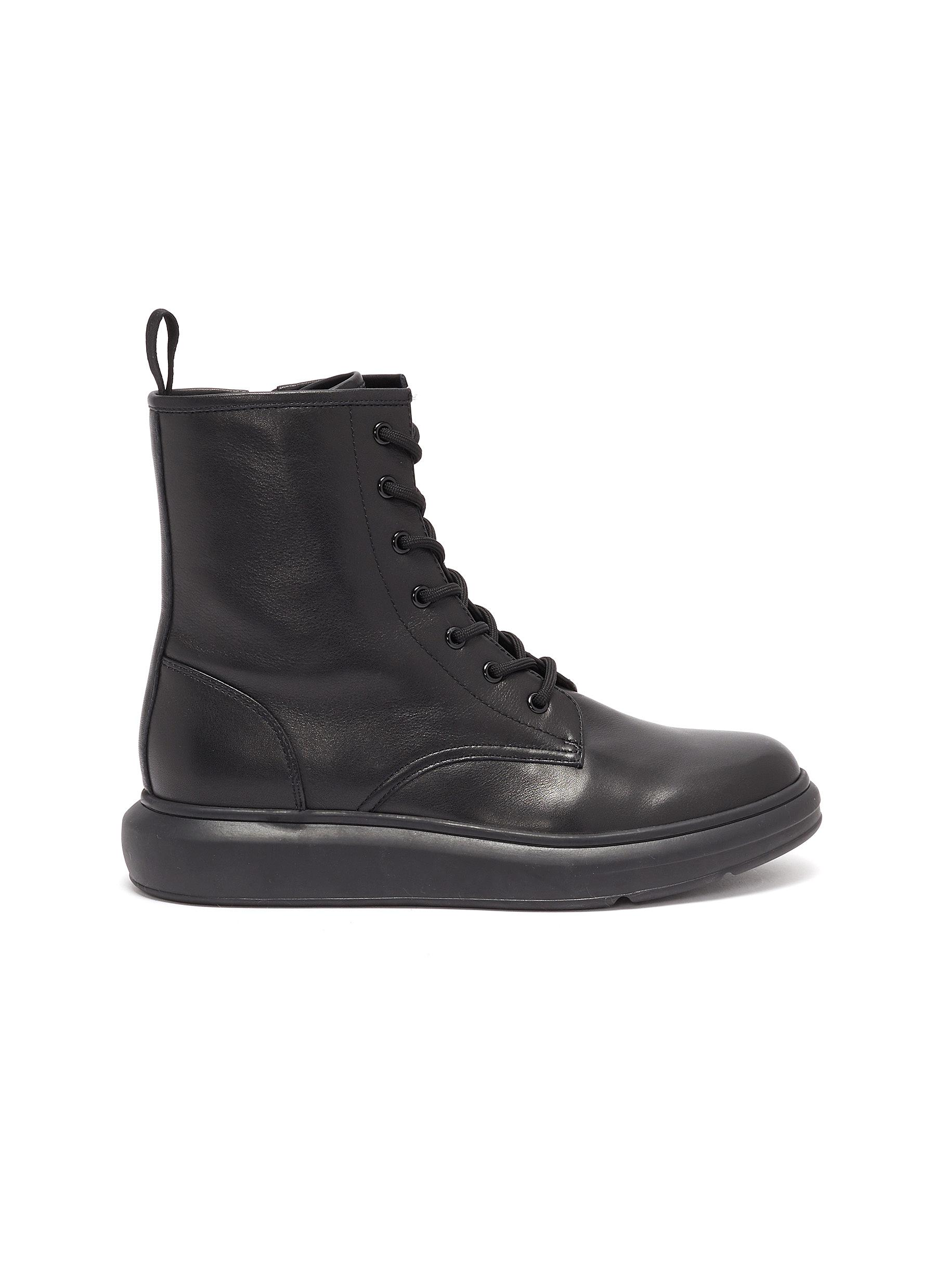 shop Pedder Red 'Ken' leather combat boots online
