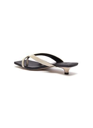 - PEDDER RED - 'Conan' leather thong sandals