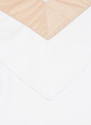 Detail View - Click To Enlarge - FRETTE - Bicolore Standard Sham – Powder Pink