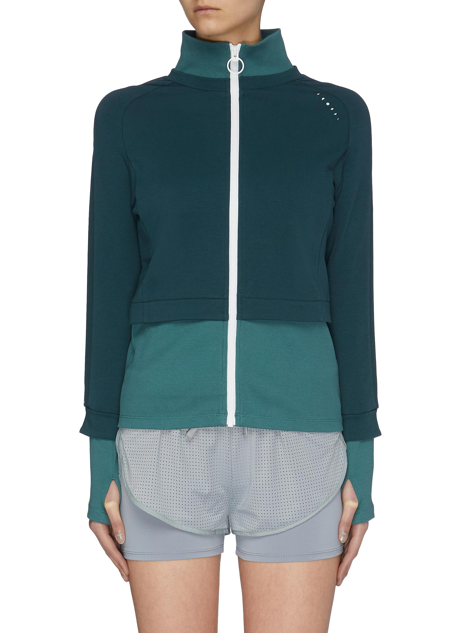 Buy Particle Fever Jackets Colour Panelled Track Jacket