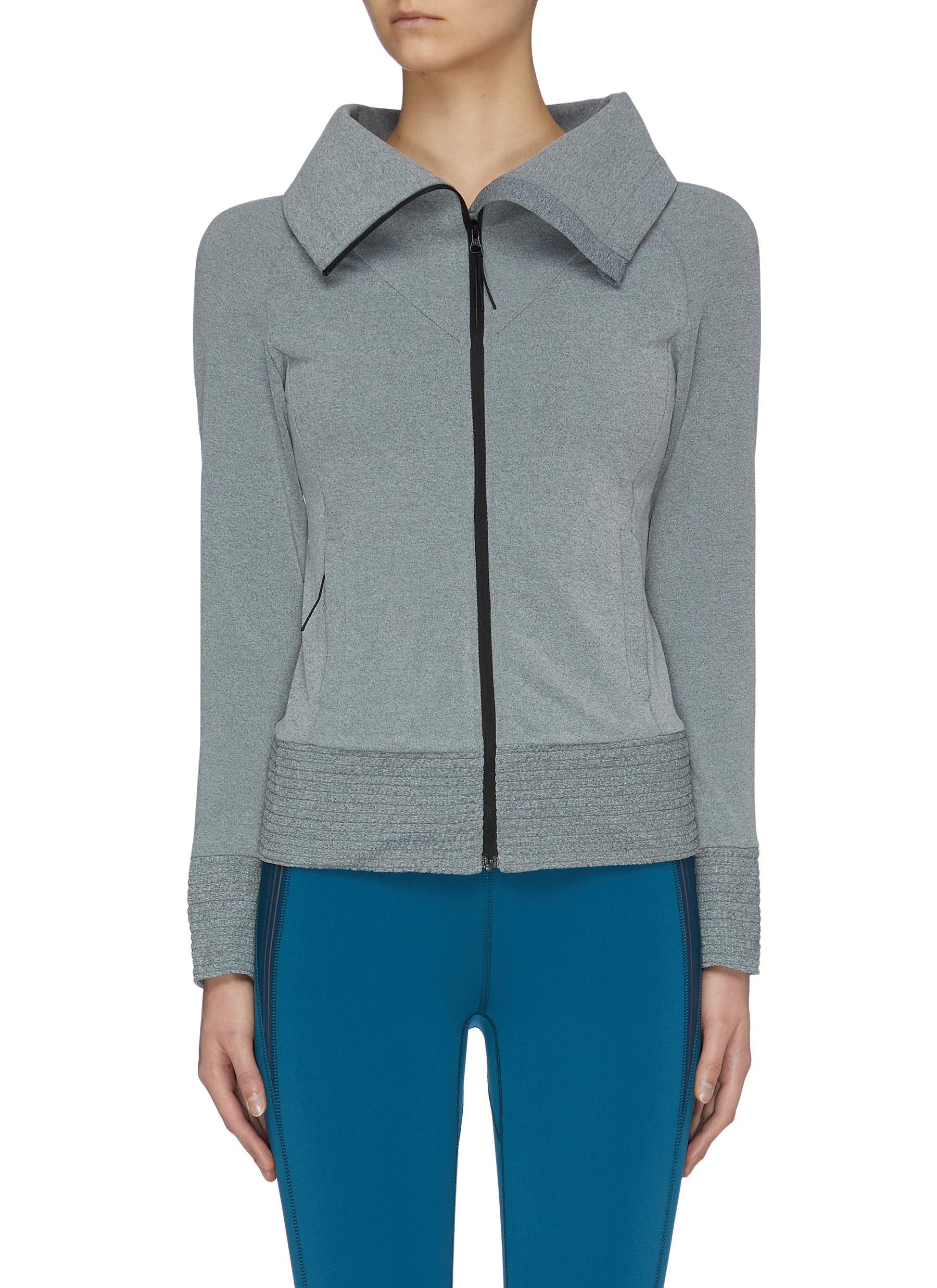 shop Particle Fever High Neck Fleece Jacket online