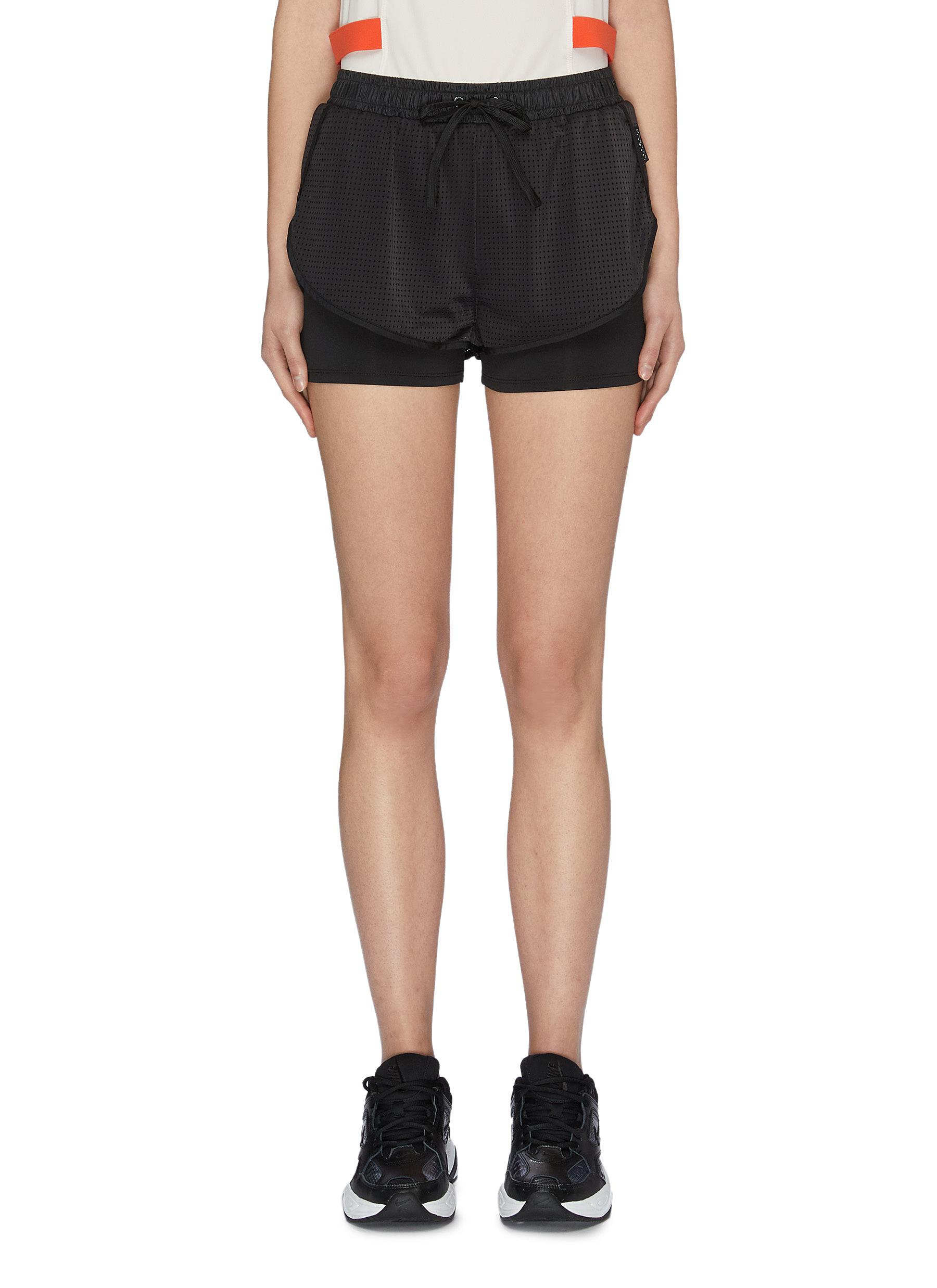shop Particle Fever Layered running shorts online