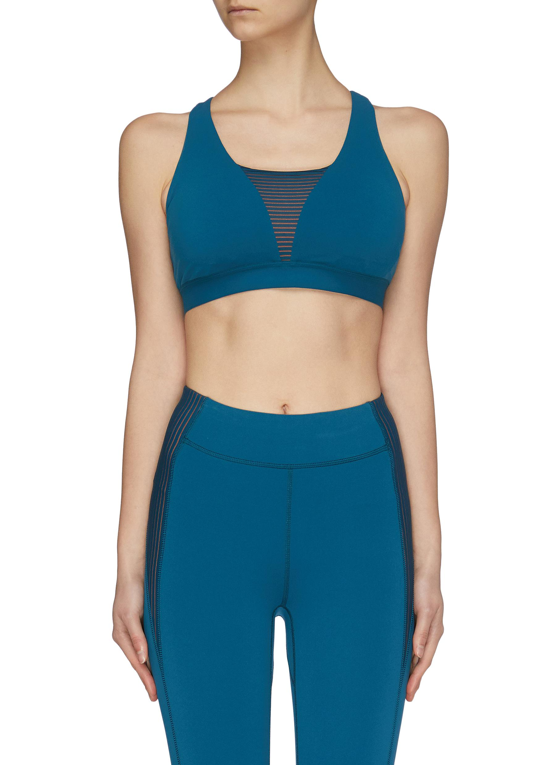 shop Particle Fever Quick-dry Racer Back Sports Bra online