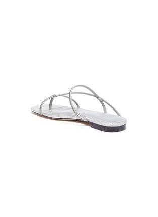 - PEDDER RED - 'Calvina' strass embellished strappy sandals