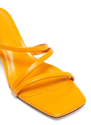 Detail View - Click To Enlarge - PEDDER RED - 'Alfonso' strappy square toe sandals