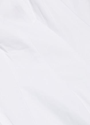 - STAUD - 'Wells' square neck sleeveless pleated maxi dress
