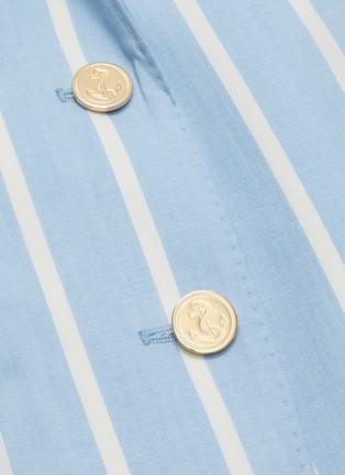 - THOM BROWNE - Blanker Stripe Narrow Shoulder Jacket