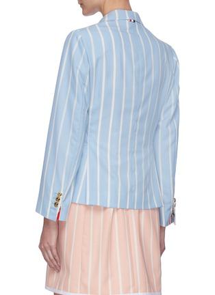 Back View - Click To Enlarge - THOM BROWNE - Blanker Stripe Narrow Shoulder Jacket
