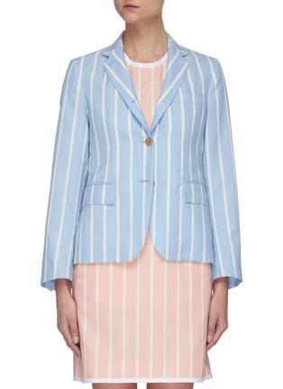 Main View - Click To Enlarge - THOM BROWNE - Blanker Stripe Narrow Shoulder Jacket