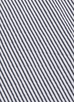 - THOM BROWNE - Stripe seersucker skirt