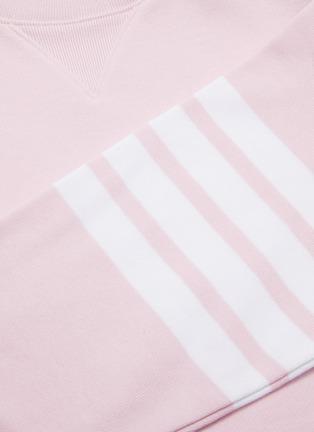 - THOM BROWNE - Stripe sleeve sweater dress