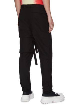 Back View - Click To Enlarge - AMBUSH - Thigh strap pants