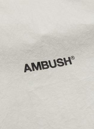 - AMBUSH - Logo zip up hood jacket