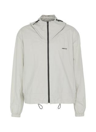 Main View - Click To Enlarge - AMBUSH - Logo zip up hood jacket