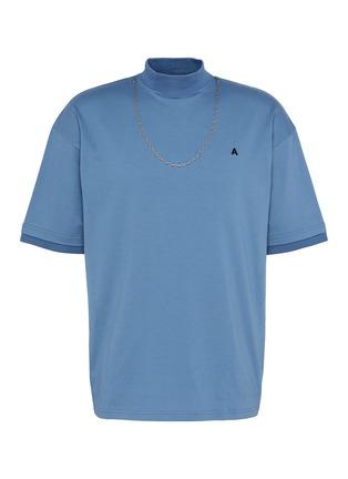 Main View - Click To Enlarge - AMBUSH - Chain embellished T-shirt