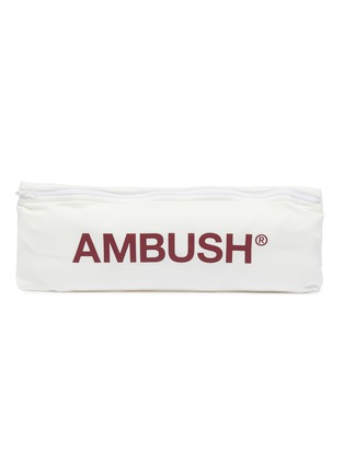 - AMBUSH - Logo patch pocket T-shirt