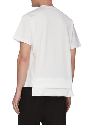 Back View - Click To Enlarge - AMBUSH - Logo patch pocket T-shirt