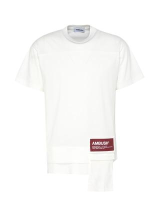 Main View - Click To Enlarge - AMBUSH - Logo patch pocket T-shirt