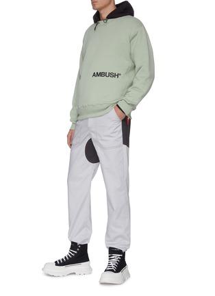 Figure View - Click To Enlarge - AMBUSH - Logo print sweatshirt