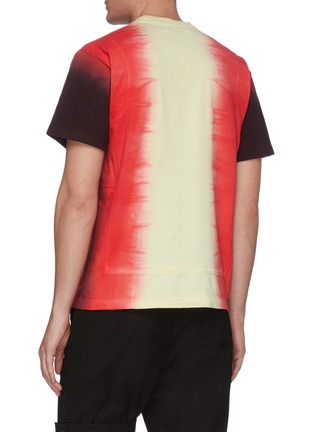 Back View - Click To Enlarge - AMBUSH - Tie dye panelled T-shirt