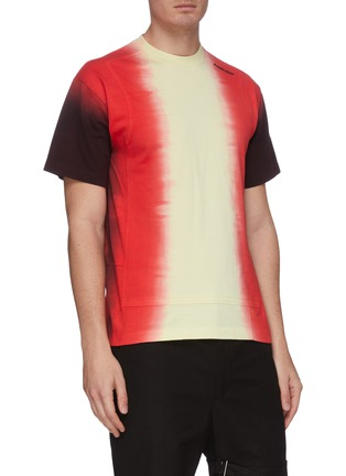 Front View - Click To Enlarge - AMBUSH - Tie dye panelled T-shirt