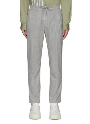 Main View - Click To Enlarge - UNCENSORED - Tartan straight leg pants