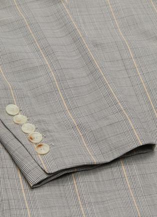 - UNCENSORED - Military tartan blazer
