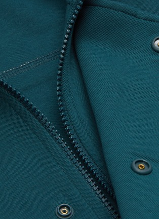 - PARTICLE FEVER - Colourblock panel standcollar jacket