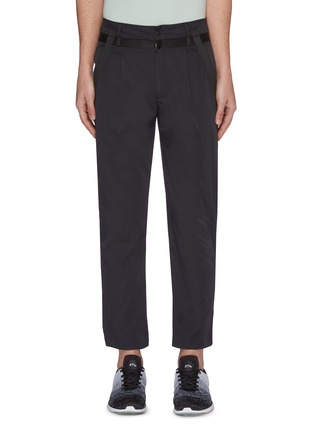 Main View - Click To Enlarge - PARTICLE FEVER - Quick dry ribbon outseam pants