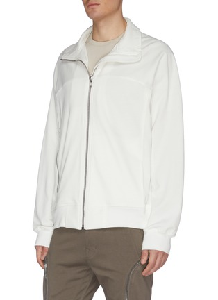 Front View - Click To Enlarge - RICK OWENS - Zip front track jacket