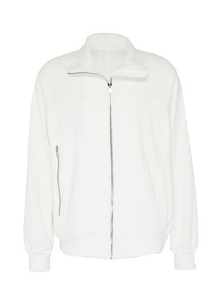 Main View - Click To Enlarge - RICK OWENS - Zip front track jacket