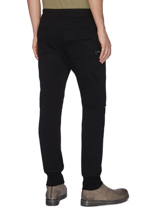 Back View - Click To Enlarge - RICK OWENS - Cargo track pants
