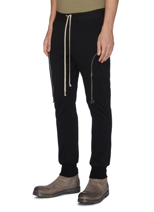 Front View - Click To Enlarge - RICK OWENS - Cargo track pants